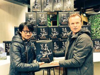 Hideo Kojima et Hermen Hulst, le 6 mars 2017