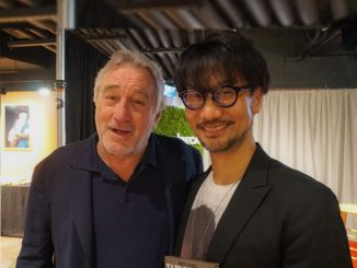 Robert De Niro et Hideo Kojima, le 29 avril 2017