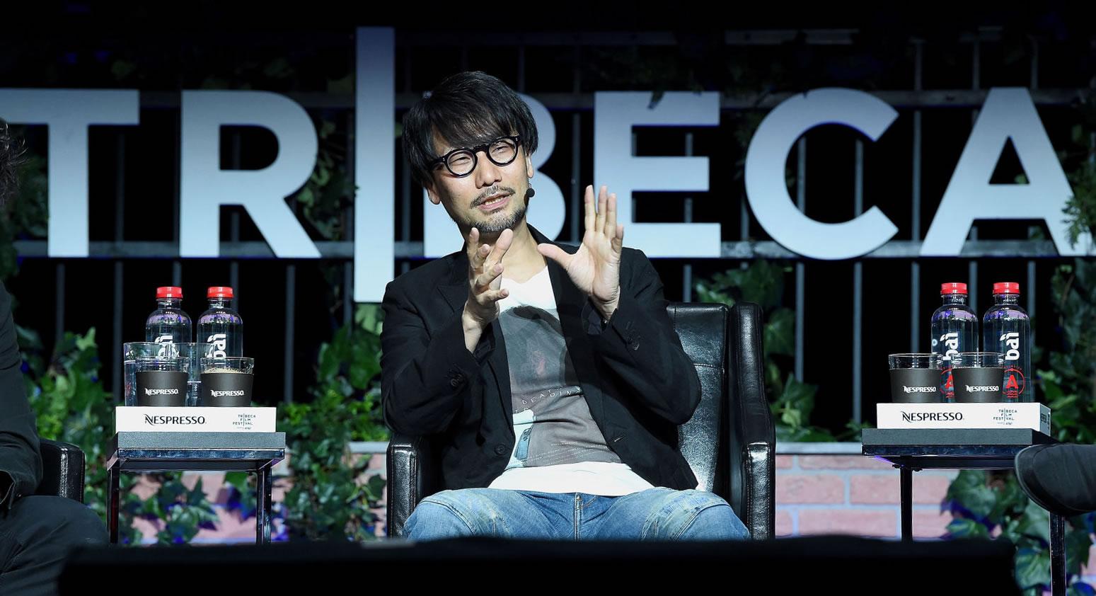 Hideo Kojima au Tribeca Games Festival, le 29 avril 2017