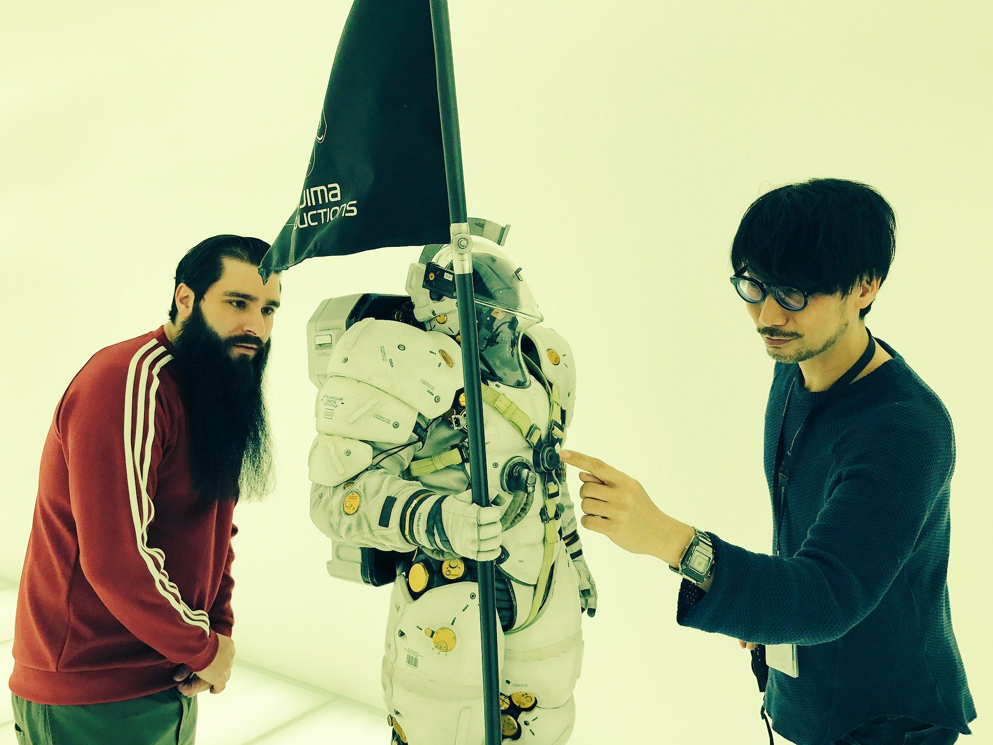Jordan Vogt-Roberts, Ludens et Hideo Kojima, le 10 février 2017