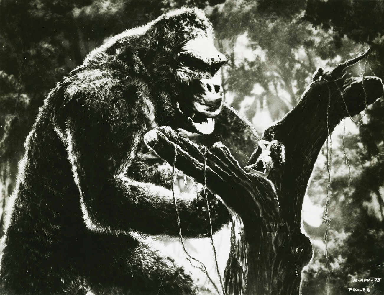 Fay Wray dans King Kong de Merian Caldwell Cooper et Ernest Beaumont Schoedsack (1933)