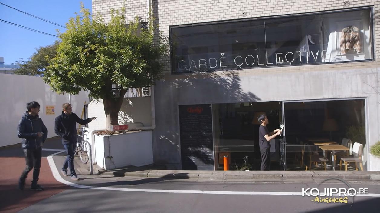 Le café-restaurant où Kojima Productions faisait ses réunions dès décembre 2015