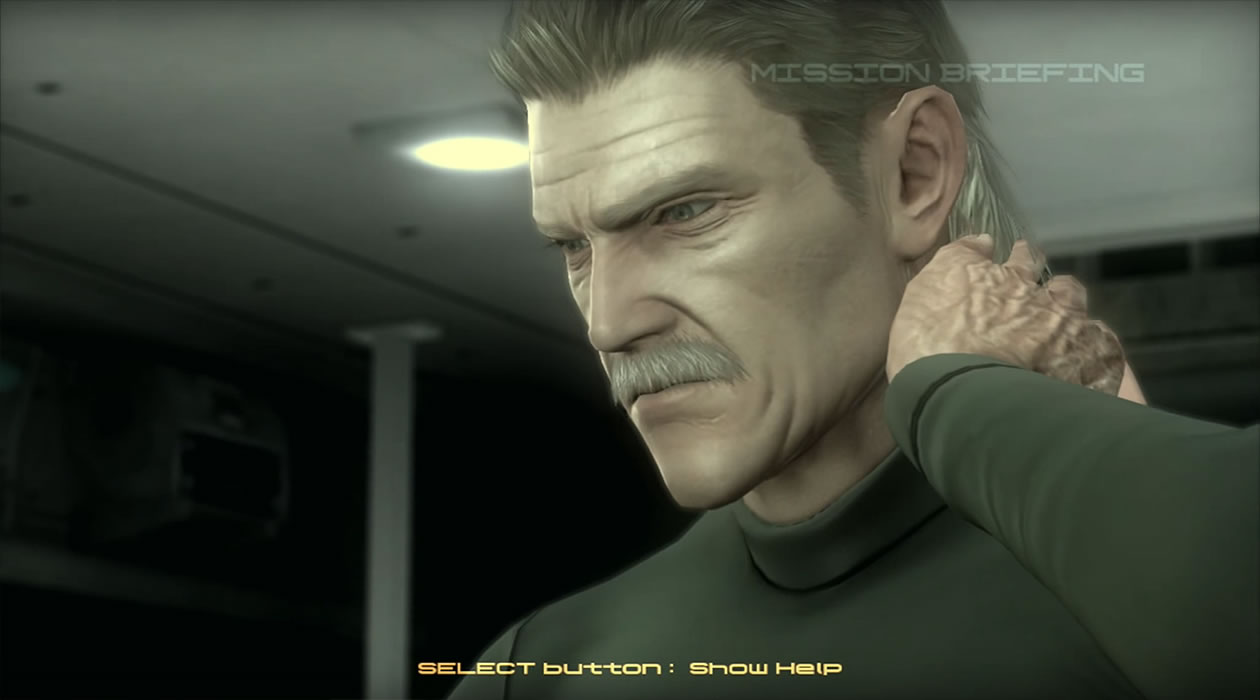 Old Snake dans Metal Gear Solid 4 : Guns of the Patriots (2008)