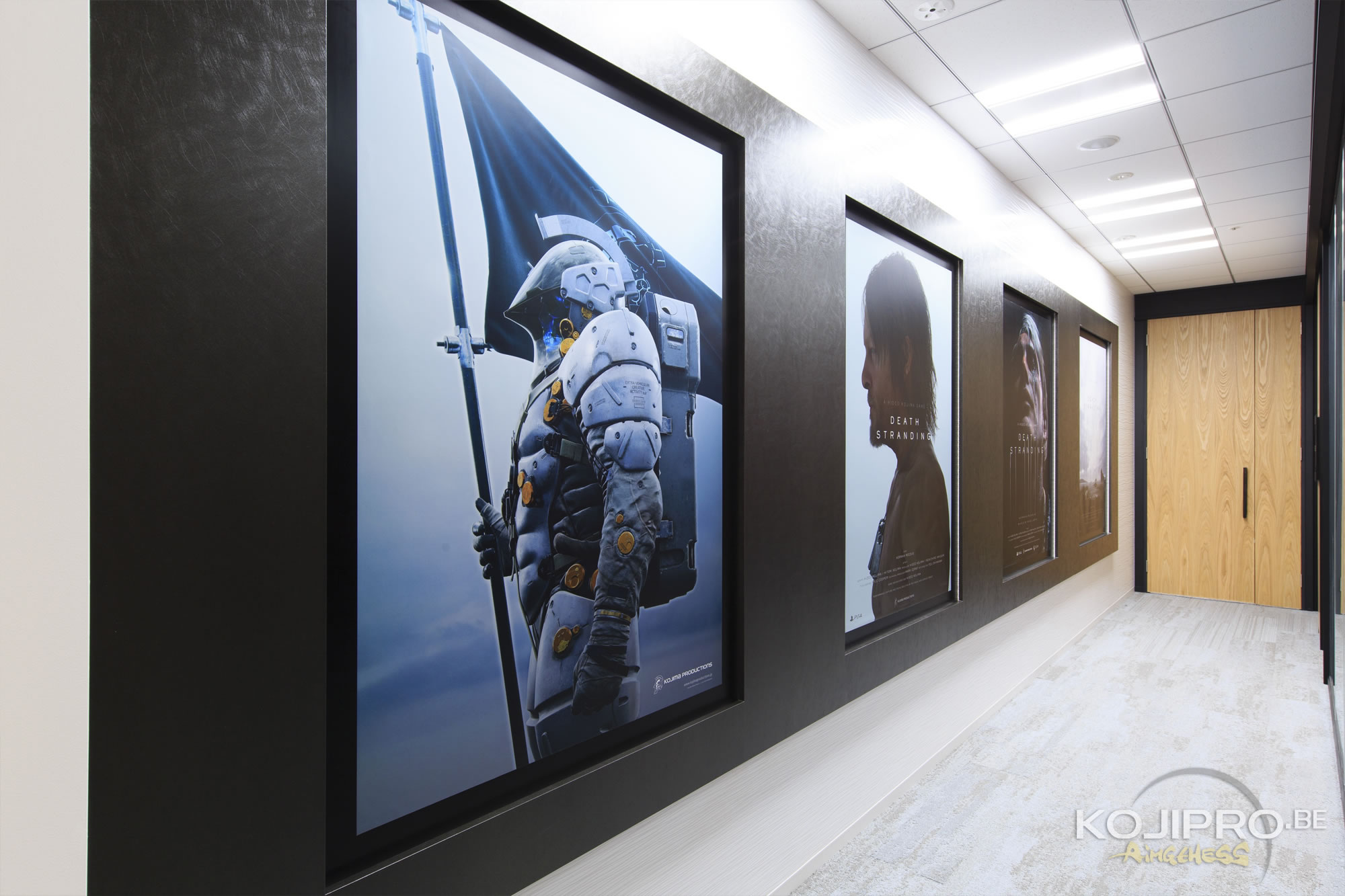 Couloir de Kojima Productions