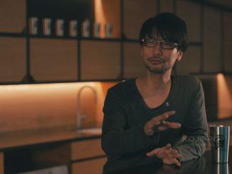 Hideo Kojima, lors de l'entretien avec Lenovo, en janvier 2017