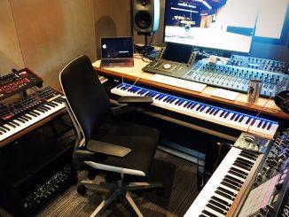 Le studio de Ludvig Forssell, le 8 mai 2017
