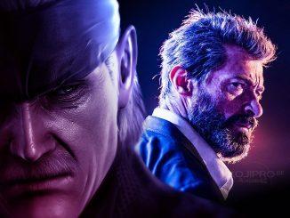 Old Snake et Logan (Hugh Jackman)