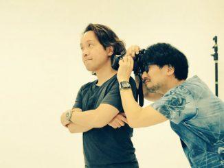 Yoji Shinkawa et Hideo Kojima, le 19 mai 2017