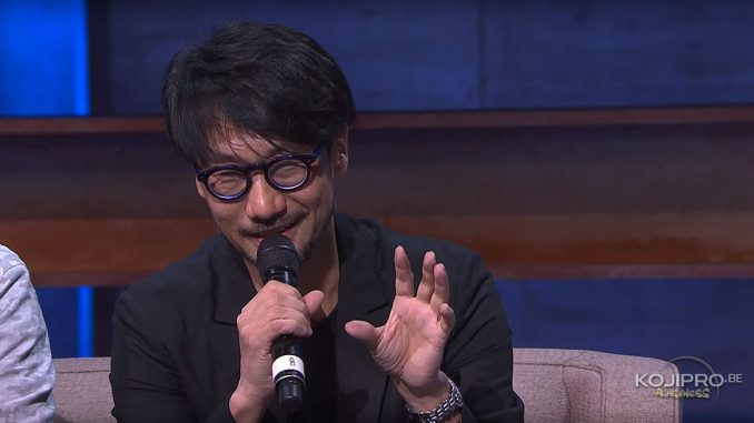 Hideo Kojima : « Je ne me suis jamais vraiment demandé comment ma vie aurait tourné si j'étais devenu réalisateur »