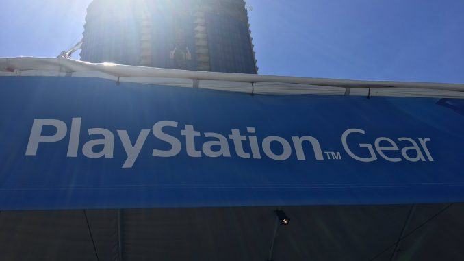 Le PlayStation Gear Store à l'E3 2017, le 12 juin 2017