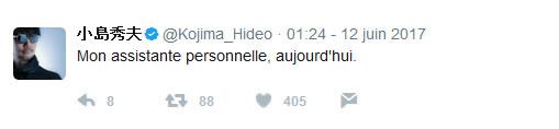 Twitter Hideo Kojima