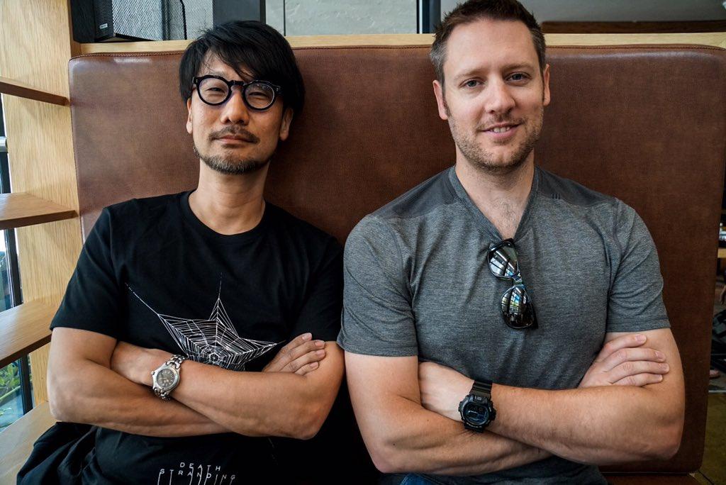 Hideo Kojima et Neill Blomkamp, le 14 juin 2017