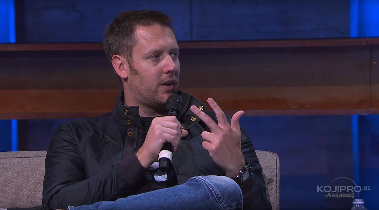 Neill Blomkamp à l'E3 Coliseum, le 14 juin 2017