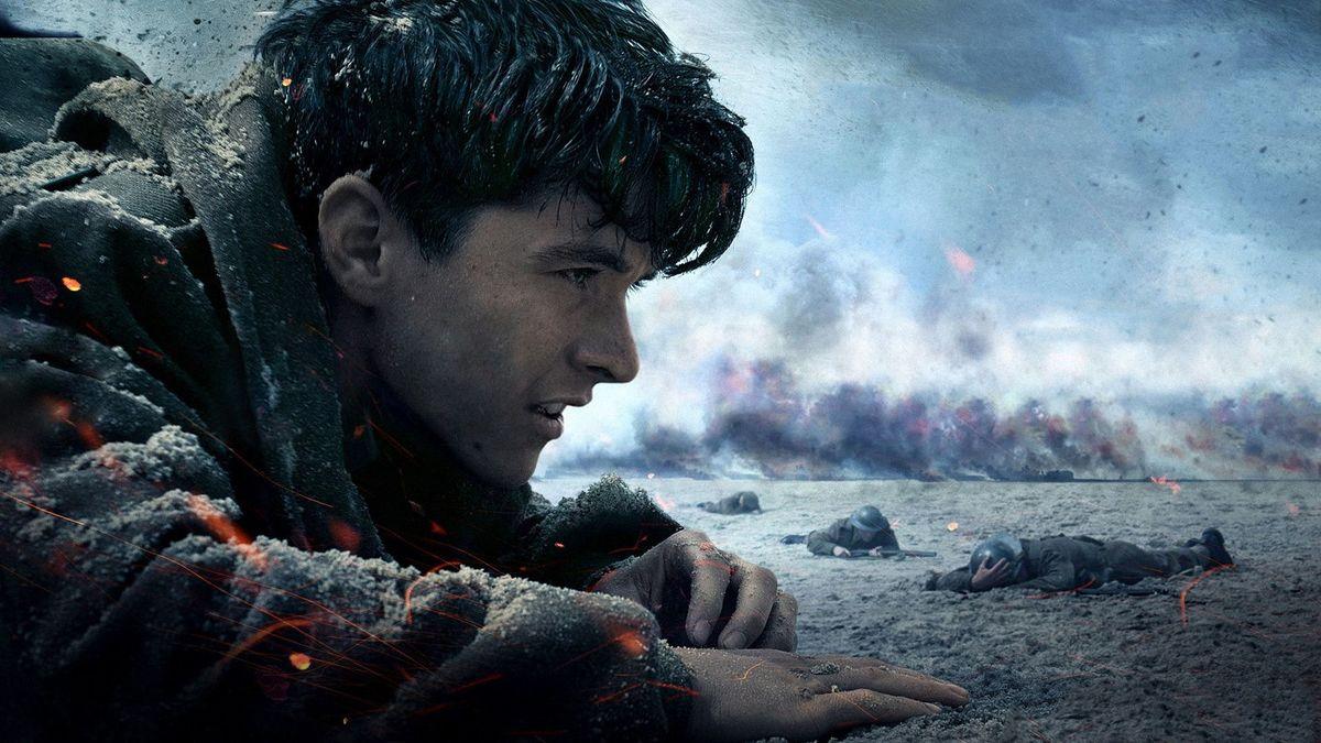 Fionn Whitehead dans Dunkerque (Dunkirk) de Christopher Nolan (2017)