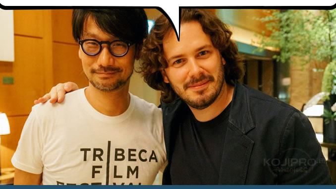 Hideo Kojima et Edgar Wright, le 3 août 2017