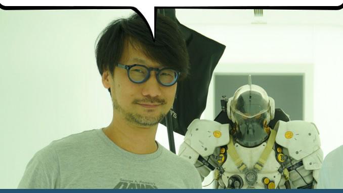 Hideo Kojima et Ludens, le 23 août 2017