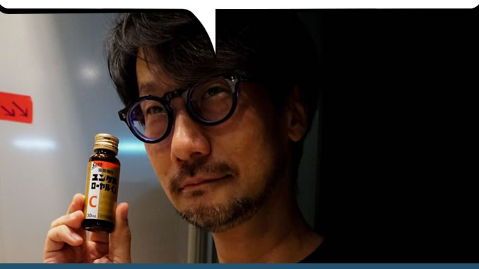 Hideo Kojima et ses vitamines, le 25 août 2017