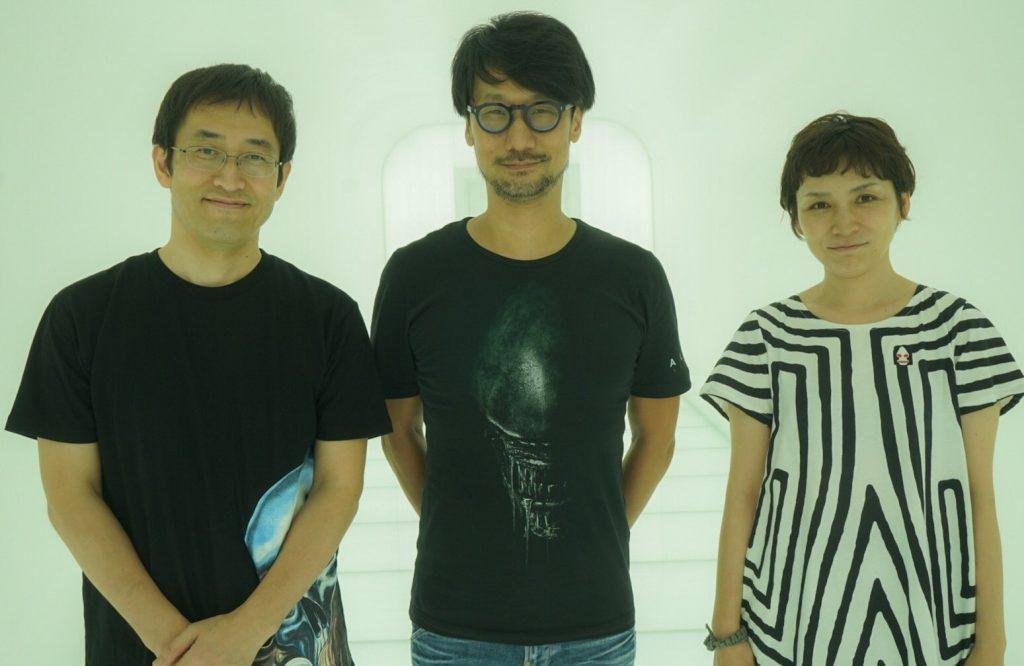 Junji Ito, Hideo Kojima et Ayako Ishiguro chez KojiPro, le 7 août 2017