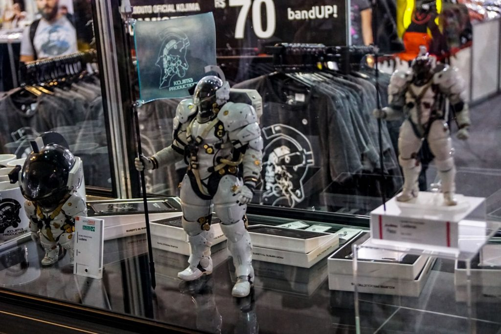 Goodies Kojima Productions au Brasil Game Show, le 11 octobre 2017
