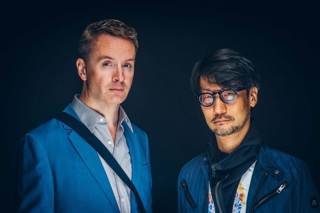 Nicolas Winding Refn et Hideo Kojima, le 1er octobre 2017
