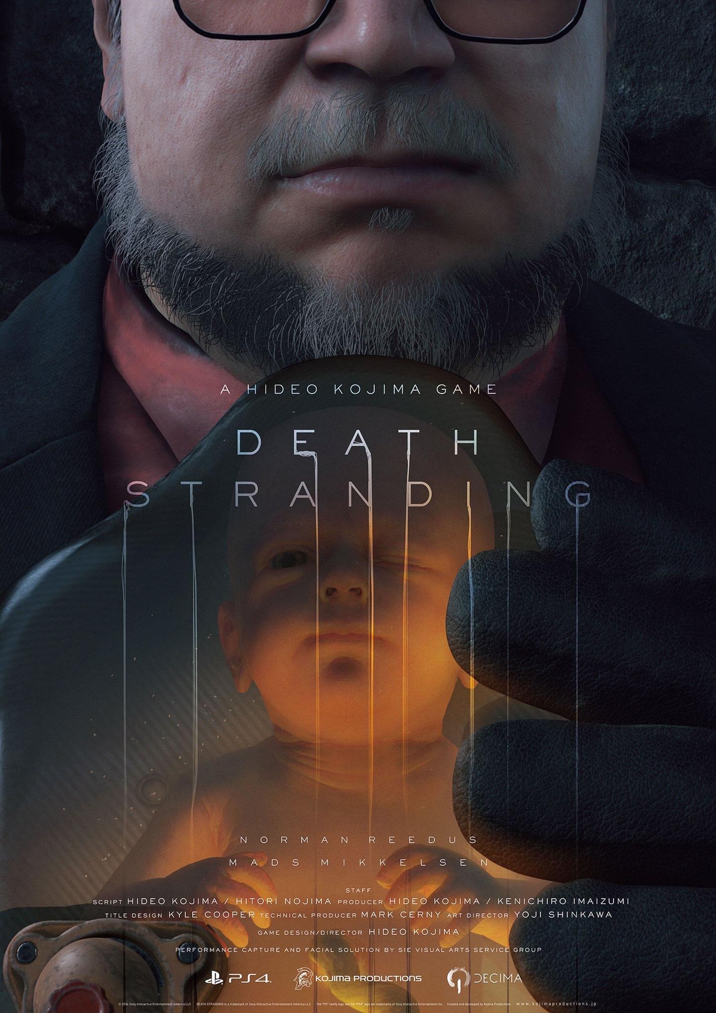 Affiche de Death Stranding avec Guillermo del Toro – TGA 2016, le 1er décembre 2016