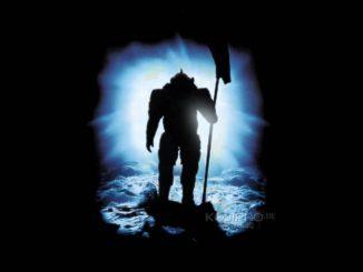 Ludens dans les abysses | Illustration inspirée de l'affiche du film Abyss de James Cameron (1989)