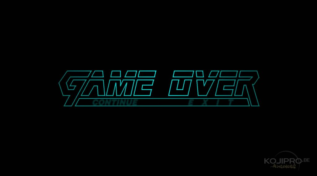 Le « game over » de Metal Gear Solid (1998)