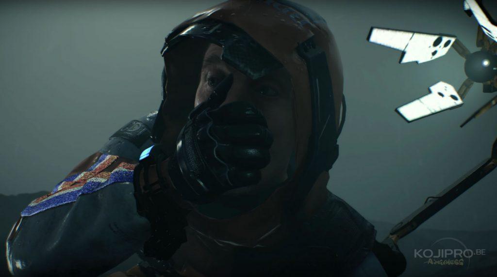 Image extraite du troisième trailer de Death Stranding, dévoilé le 7 décembre 2017