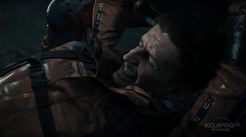 Le blessé vieillit à vue d'œil.