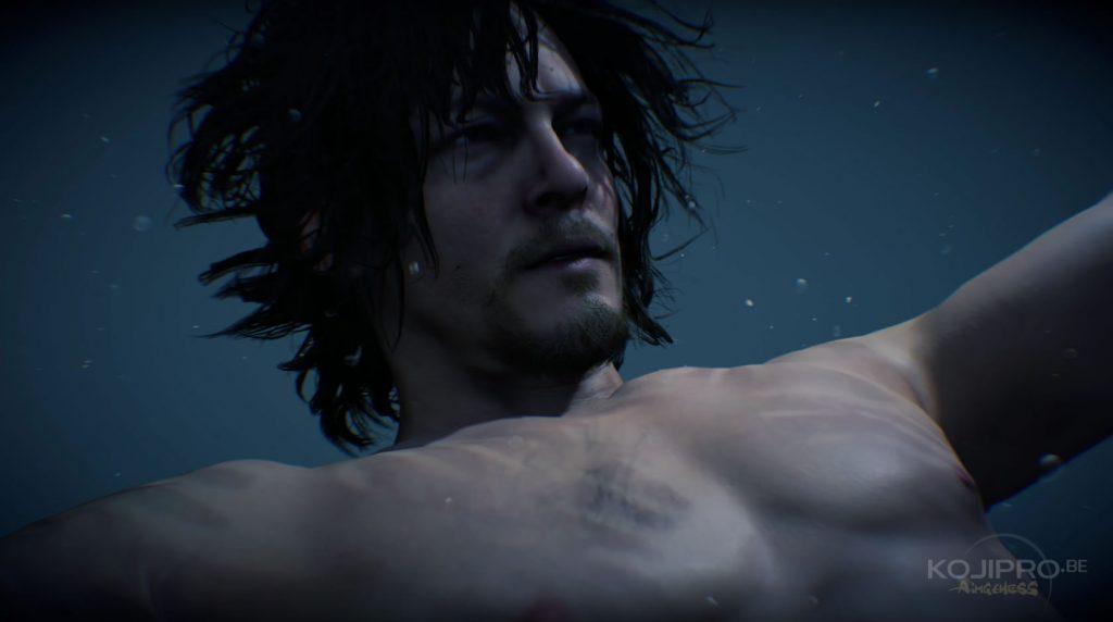 Des traces de mains apparaissent sur le corps de Sam.