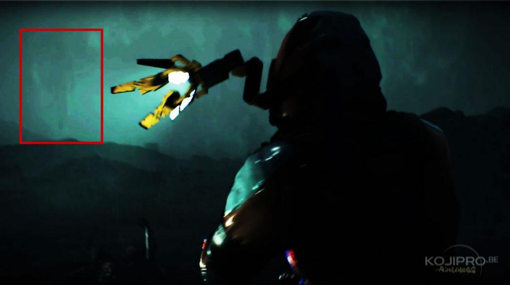 Imperceptiblement, la cinquième silhouette volante apparaît au-dessus du blessé qui se fait emporter.