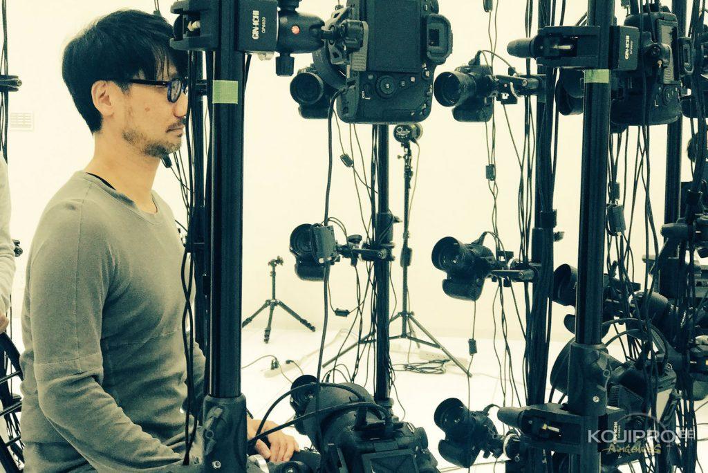Séance de scanning 3D pour Hideo Kojima, le 6 novembre 2017.