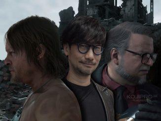 Norman Reedus, Hideo Kojima et Guillermo del Toro