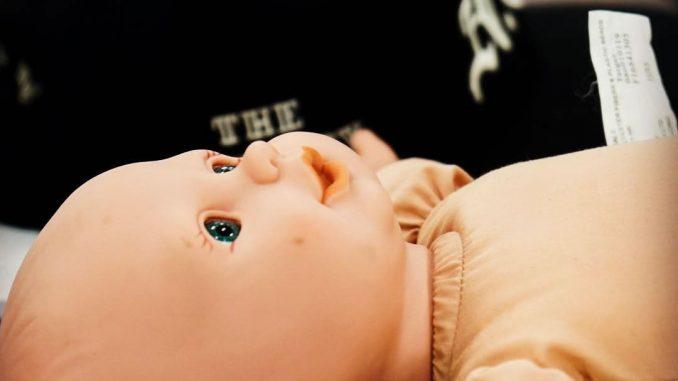Poupée du bébé pour la performance capture de Death Stranding, le 19 février 2018