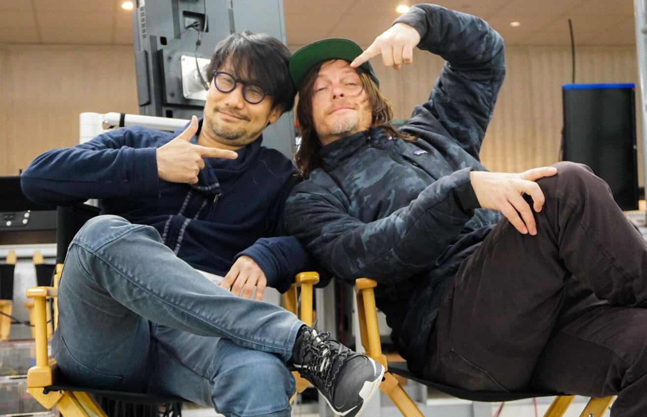« Ooooh yeah ! » Hideo Kojima et Norman Reedus, le 19 février 2018