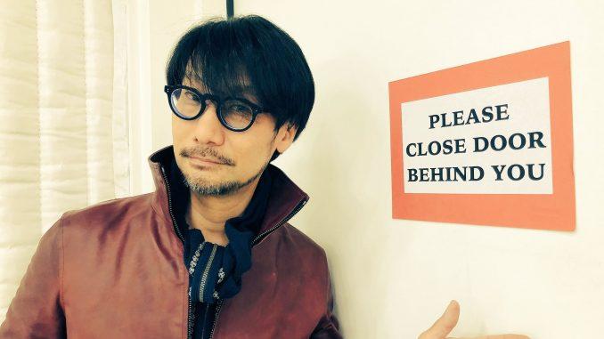 Hideo Kojima sur le tournage de Death Stranding, le 23 février 2018