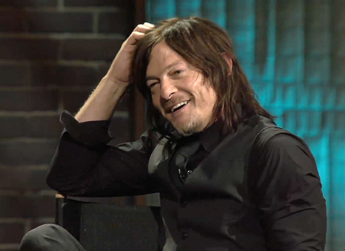 Norman Reedus dans « Inside the Actors Studio » (2016)