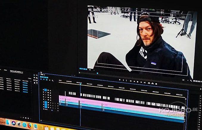 Norman Reedus en performance capture pour Death Stranding, le 20 février 2018