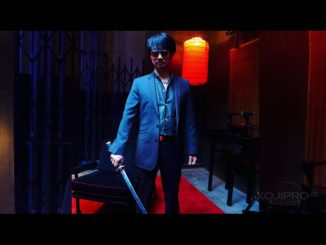 Hideo Kojima sur le tournage de « Too Old To Die Young », le 22 février 2018