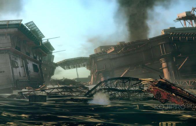 « Une séquence d'événements pseudo-historiques plusieurs jours après la chute de la Mother Base », Metal Gear Survive (2018)