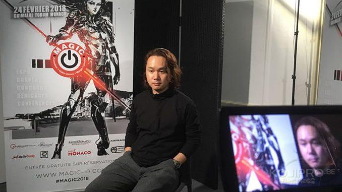 Yoji Shinkawa, le 23 février 2018 | photo William Marquetout