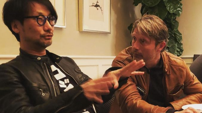 Hideo Kojima et Mads Mikkelsen, le 13 avril 2018