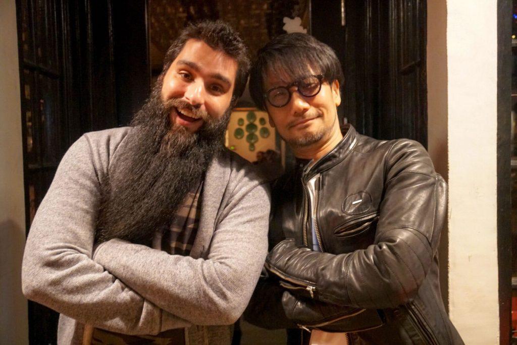 Jordan Vogt-Roberts et Hideo Kojima, le 12 avril 2018