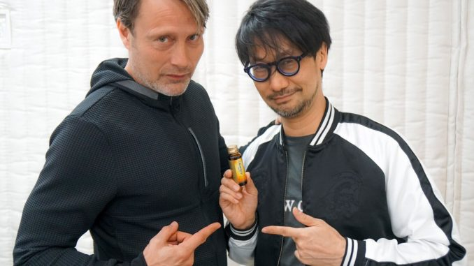 Mads Mikkelsen, Hideo Kojima et ses vitamines - Performance capture de Death Stranding, le 10 avril 2018