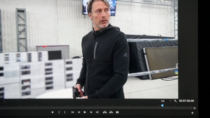 Mads Mikkelsen - Performance capture de Death Stranding, le 10 avril 2018
