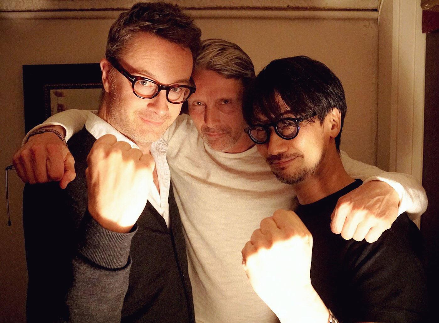 La performance capture de Death Stranding a repris avec Norman Reedus et Mads Mikkelsen