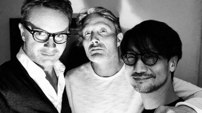 Nicolas Winding Refn, Mads Mikkelsen et Hideo Kojima, le 11 avril 2018