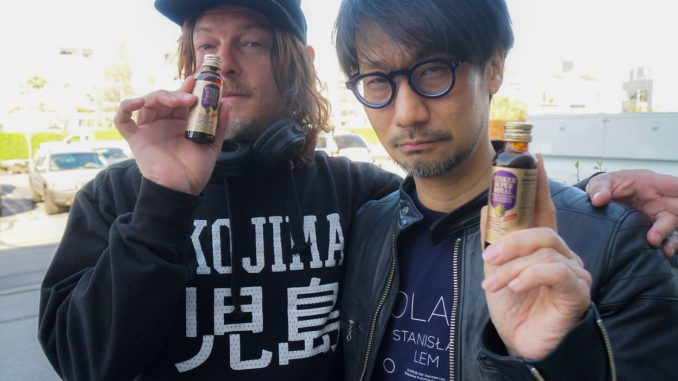 Norman Reedus et Hideo Kojima, le 14 avril 2018