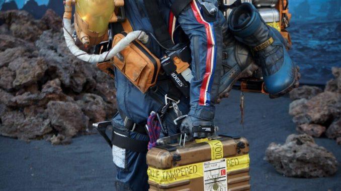 Une statue de Sam Porter Bridges grandeur nature à l'E3 2018