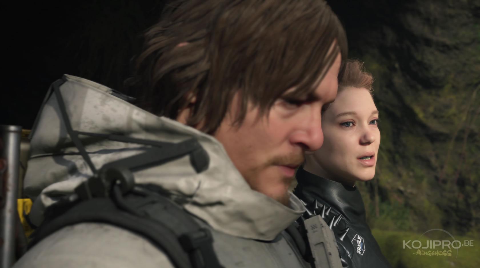 Norman Reedus et Léa Seydoux dans le quatrième trailer de Death Stranding | E3 2018